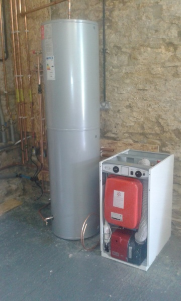 Oil system boiler upgrade for a residential customer - 3 Solutions