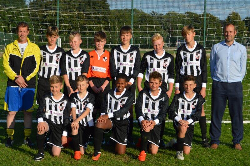 3 Solutions proudly sponsor Shepton Mallet Sports FC Under 14's