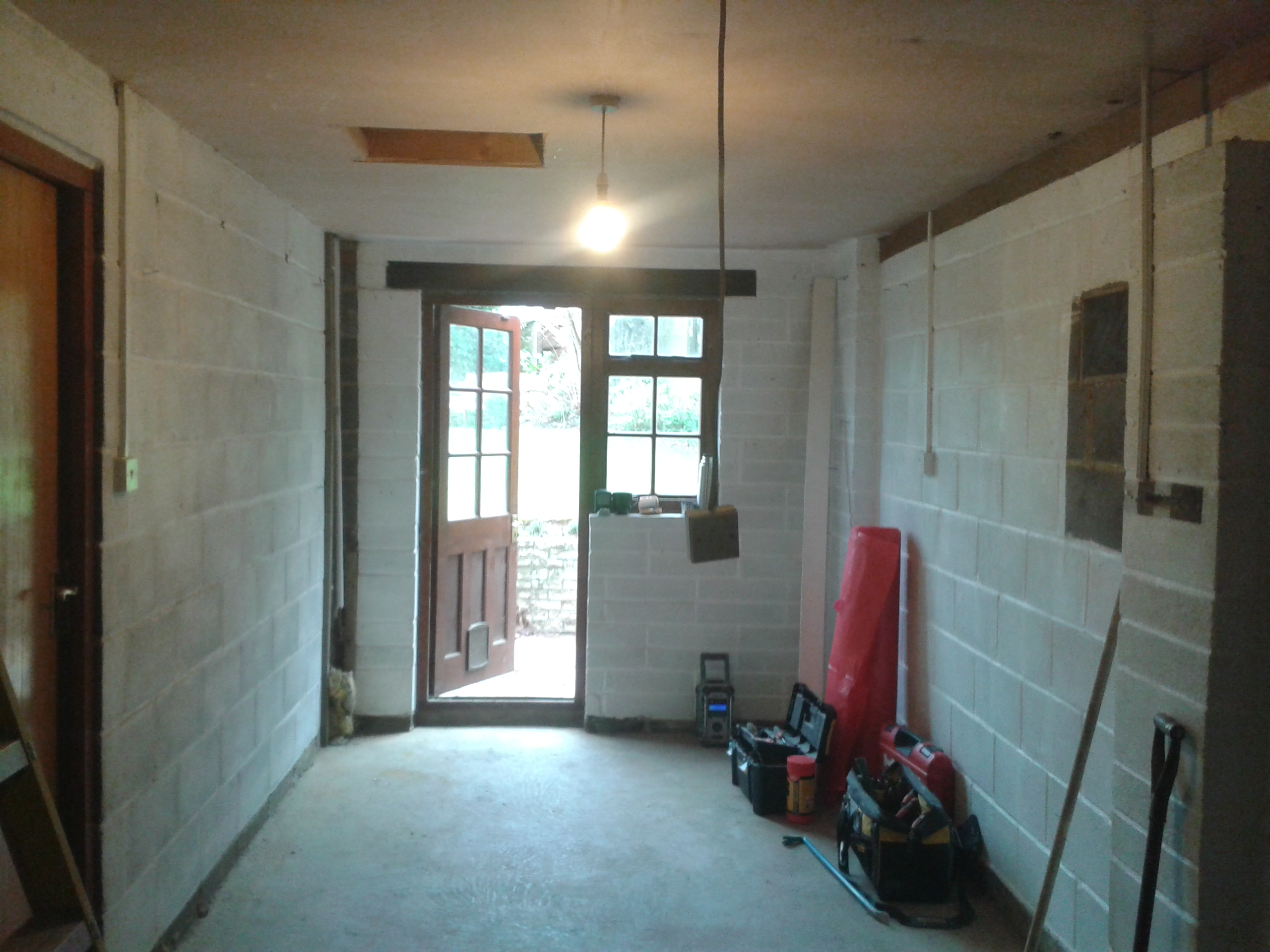 Garage Conversion From Unused Space To A Larger Live In