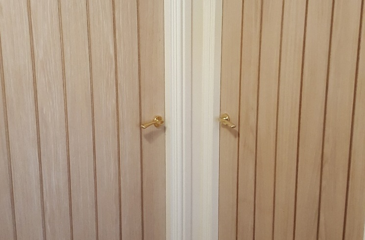 Oak door replacement for a residential property in Shepton Mallet